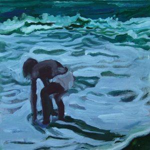 Girl # 1, 23 x 17 cm, oil on paper, 2007