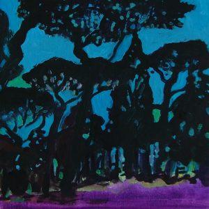 Valdevaqueros # 1, 23 x 17 cm, oil on paper, 2007