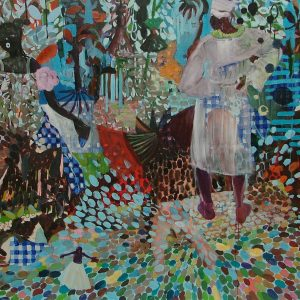 Once upon a time # 2, 170 x 190 cm, oil on canvas, 2007
