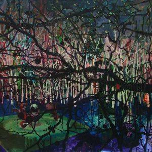 Playground, 125 x 140 cm, oil on canvas, 2007