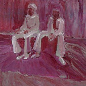 Untitled # 2, 35 x 45 cm, acrylic on canvas, 2008