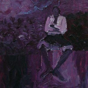 Untitled # 3, 45 x 35 cm, acrylic on canvas, 2008