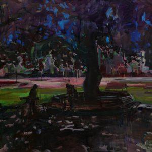 Big shade, 100 x 140 cm, oil on canvas, 2008