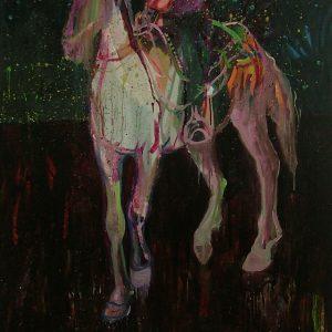 Caballero del sur, 190 x 120 cm, oil on canvas, 2008