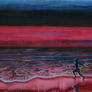 Runner # 2, 80 x 110 cm, oil on canvas, 2009