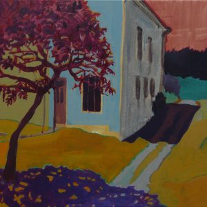 French House, 50 x 60 cm, acrylic on canvas, 2009