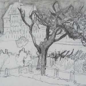 Countryhouse # 3, 21 x 29 cm, pencil on paper, 2009