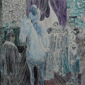 The Wedding, 150 x 180 cm, oil on canvas, 2010