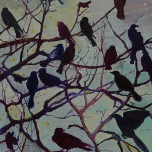 Birds, 120 x 90 cm, oil on canvas, 2010