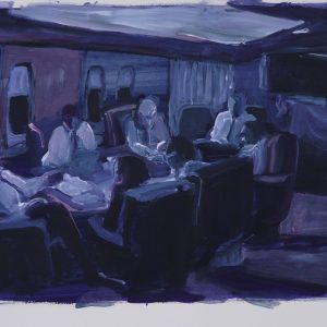 Omaha High, 35 x 45 cm, acrylic on paper, 2011