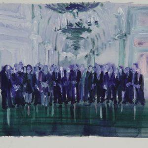 Full House, 35 x 45 cm, acrylic on paper, 2011