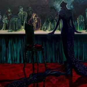 Pique Dame, 150 x 180 cm, oil on canvas, 2011