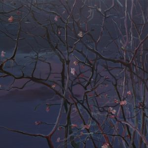 Winterblossem, 100 x 125 cm, oil on canvas, 2012