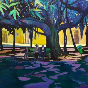 Big Shade # 3, 115 x 190 cm, oil on canvas, 2012