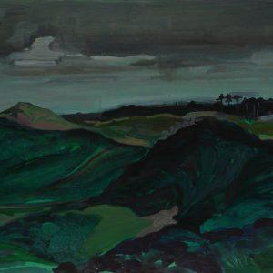 Dunes # 4 (Parnassia), 31 x 41 cm, acrylic on paper, 2012