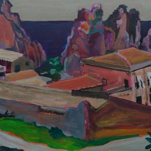 Tonnara, 25 x 50 cm, acrylic on paper, 2012
