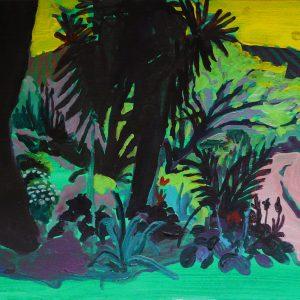 Garden # 2, 25 x 50 cm, acrylic on paper, 2012