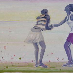Flip-Flop, 30 x 50 cm, oil on canvas, 2013
