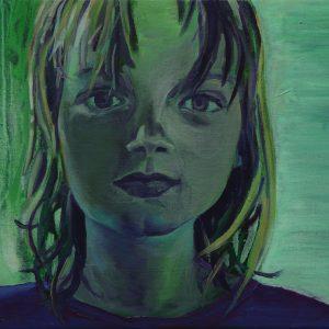 Almost Ten, 30 x 50 cm, oil on canvas, 2013