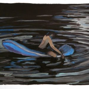 Floater # 5, 29,5 x 41 cm, oil on paper, 2013