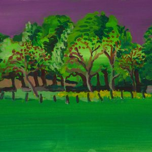 Lane # 2, 25 x 50 cm, acrylic on paper, 2013