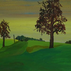 Perelaar # 1, 30 x 40 cm, acrylic on paper, 2014