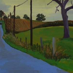 Road, 25 x 50 cm, acrylic on paper, 2014