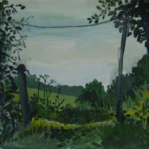Look through, 30 x 40 cm, acrylic on paper, 2014