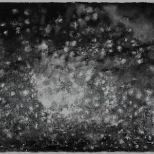 Firmament, 34 x 56 cm, charcoal on paper, 2015