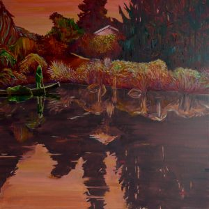 Pond # 6, 170 x 140 cm, oil on canvas, 2015