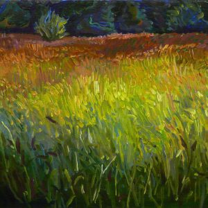 Field # 11, 40 x 55 cm, oil on canvas, 2015