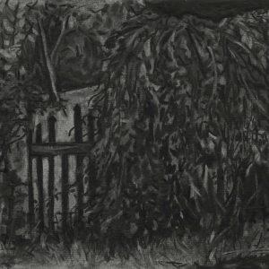 Hekje, 21 x 30 cm, charcoal on paper, 2015
