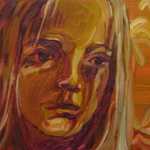 La Dorada # 12, 20 x 30 cm, oil on wood, 2019