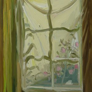 View - Filter, 20 x 17 cm, oil on perspex on wood, 2020