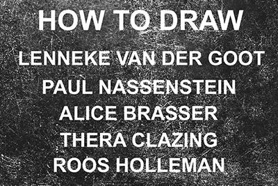 September 2018- How To Draw – Galerie Joghem – Sanquin