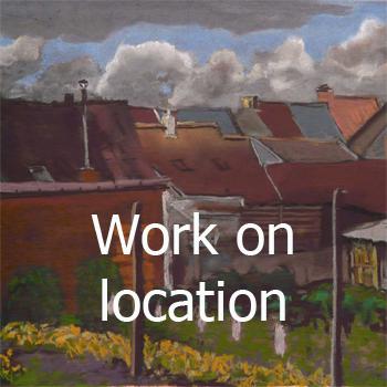 Menu Work on location